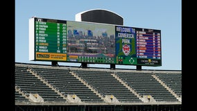 A's beat Tigers 7-3 in game resumed, Tigers win nightcap