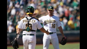 Athletics win 3-1, send Tigers to 100th loss