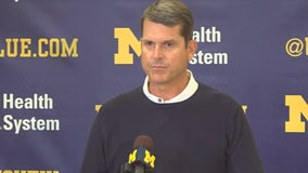 WATCH: Harbaugh, Hutchinson, Eubanks & Hill as they ready for MTSU
