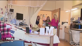 Wish Upon a Teen surprises girl with heart disease with decorated hospital room