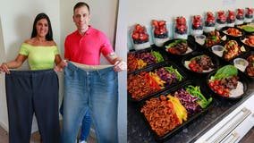 Couple loses a combined 200 pounds with 'extreme' meal prep: 'We eat whatever we want'