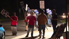 UAW workers dig in as fifth day of GM strike begins