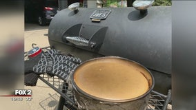 Baking a cheesecake in your smoker with Jill of All Trades