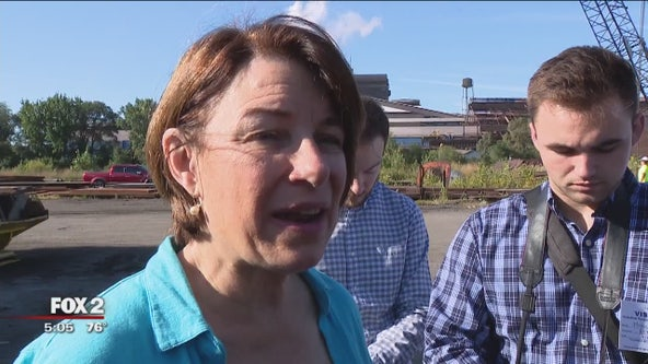 Presidential candidate Amy Klobuchar in Detroit hoping to build on Midwest momentum