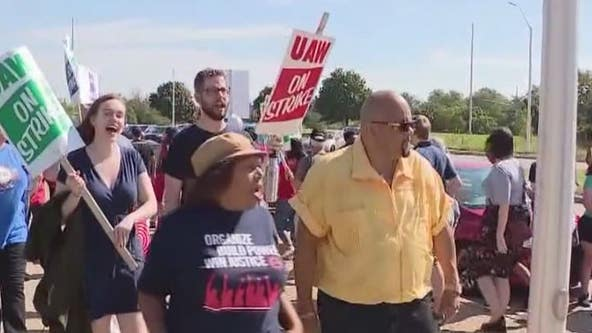 UAW GM striker: Support we are getting is overwhelming