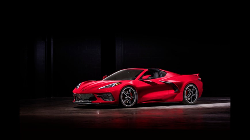 2020 Corvette Stingray found on Detroit street with wheels stolen; model not for sale yet