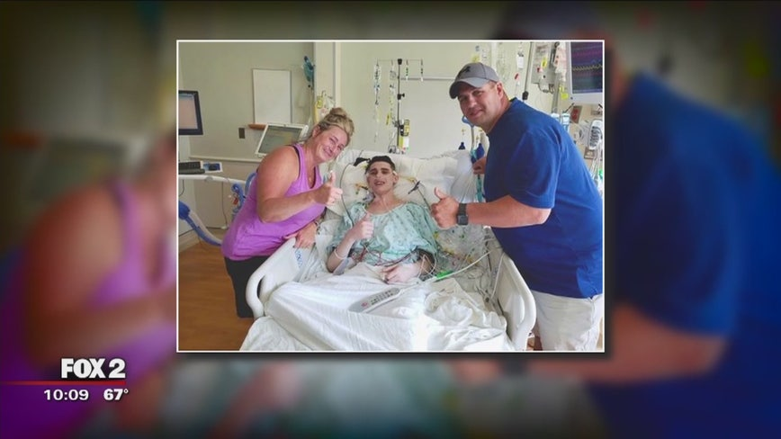 Allen Park man gets double lung transplant as family grateful for organ donation