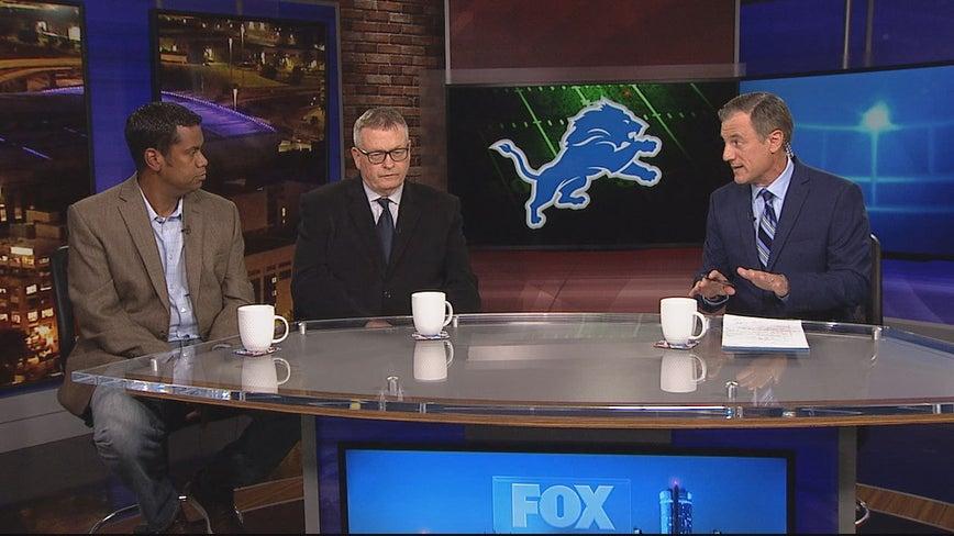 SportsWorks: Dan Miller, Pat Caputo & John Niyo talk Lions first win