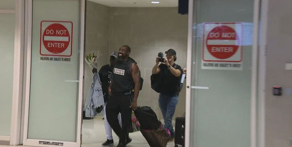 Detroit football player returns home, released from Chinese prison ...