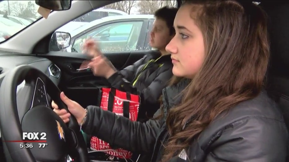 Meet the North Farmington High School students looking to end distracted driving