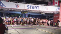 Thousands of runners at this year's Free Press TCF Bank Marathon
