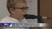 Blind 7-year-old is a music sensation