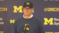 WATCH: Harbaugh, Bredeson & Kemp talk Notre Dame, tough losses and much more