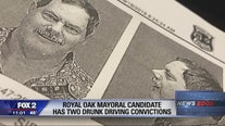 Royal Oak mayoral candidate has two drunk driving convictions