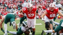 Spartans fall 38-0 to Badgers