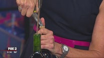 How to open wine when you don't have a corkscrew