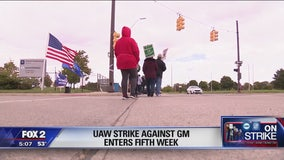 UAW-GM strike enters week five