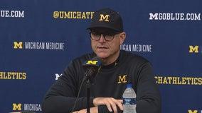 WATCH: Michigan routs No. 8 Notre Dame 45-14 in rain