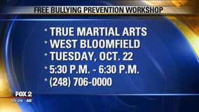 FREE bullying prevention workshop