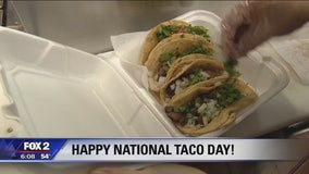 National Taco Day at Las Cazuelas in Southfield