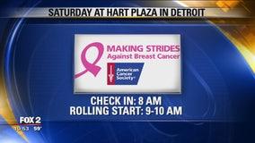Making Strides with a Breast Cancer Survivor