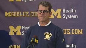 WATCH: Harbaugh insists Michigan offense hitting its stride
