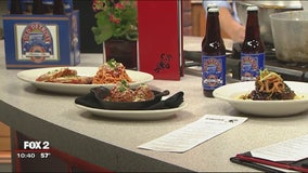 Cooking meatballs with Michigan craft beer