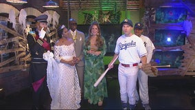 When you tell Derek Kevra costumes are The Royals, be specific
