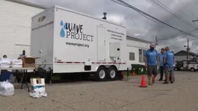 Mobile shower truck provides feeling of pride for those in need