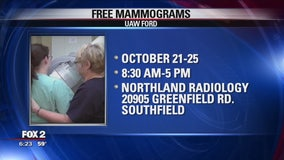 Free mammograms offered by UAW Ford for breast cancer awareness month