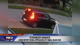 Small black SUV at center of 2 stranger danger reports in Clawson