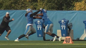 Woodriffe with Patricia, Stafford & Jones as they ready for Packers