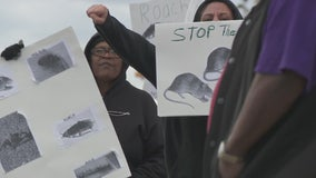 Low income Inkster residents protest in streets over living conditions