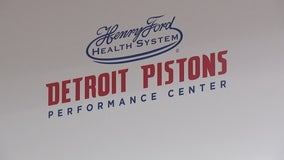 Hammond with Gores, Casey, Duggan and others at opening of Pistons new practice facility