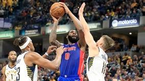 Drummond helps Pistons beat Pacers in opener