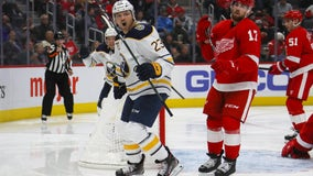 Red Wings lose again, fall 2-0 to Sabres