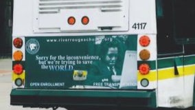 River Rouge schools sues Duggan for allegedly banning ads on Detroit buses