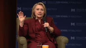 Hillary Clinton in Ann Arbor: America is becoming less relevant in the world