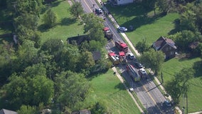 2 dead, 3 injured after car crashes into home on Chalmers