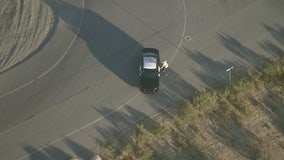 Carjacking suspect in custody after leading officers on wild chase in Kern County