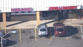 Driver crashes into bakery in Clinton Township