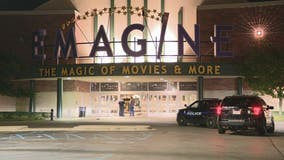 Group in stolen truck rams movie theater in Canton, steals from ATM