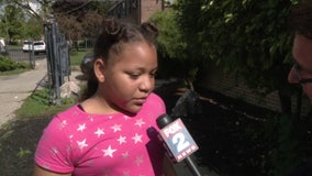 Girl, 10, uses YouTube instructions to save families when apartment is set on fire