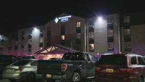 False alarm fire at Rochester Hills hotel after someone sprayed fire extinguisher in hallway