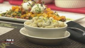 Morton's The Steakhouse gnocchi with gorgonzola cream sauce recipe
