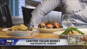 Shop and dine at Cantoro Italian Market and Trattoria in Plymouth