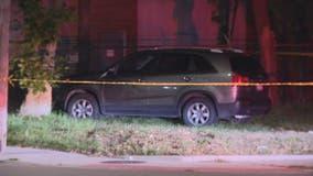 Man found shot to death in SUV near field on Detroit's east side