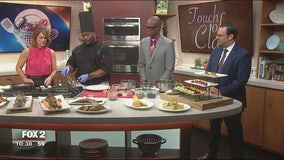 Touch of Class Catering salmon and potato recipes
