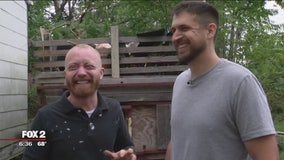 Detroit duo rehabbing abandoned houses in their neighborhood - and hiring locals to help them out
