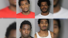 Four arrested in connection to almost half of all Ferndale thefts from vehicles this year